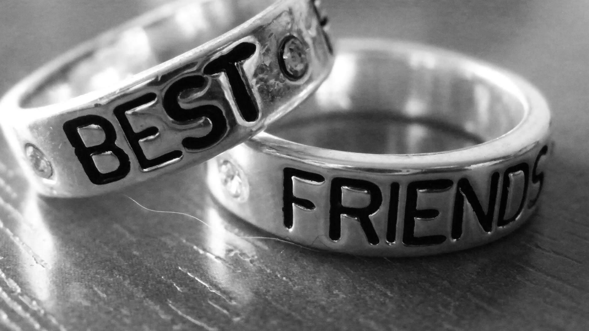 happy friendship day steel rings hd wallpaper