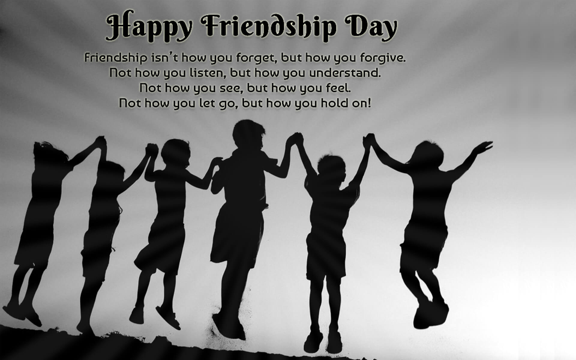 happy friendship day thoughts quotes wallpaper