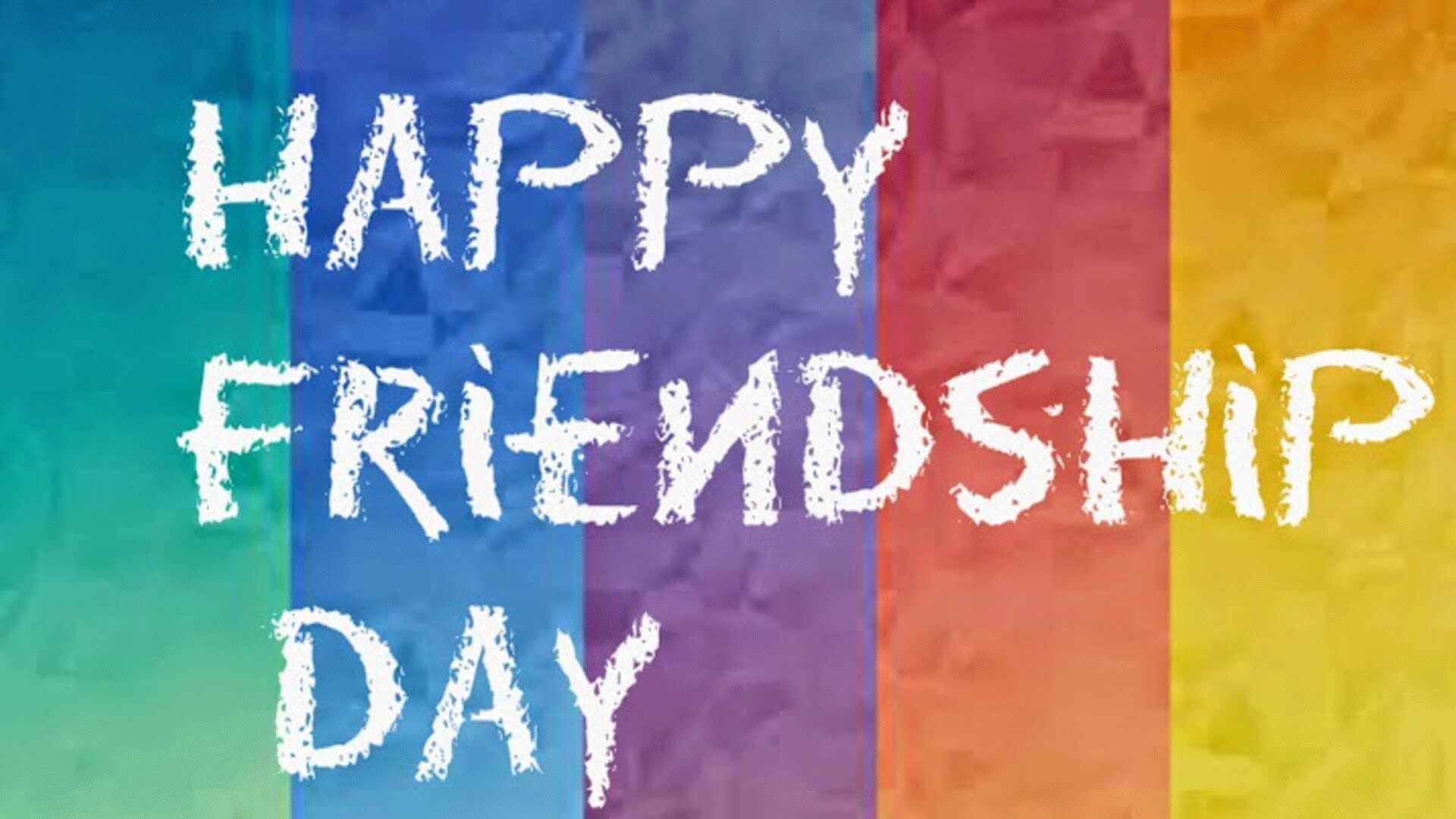 happy friendship day weaving design text image wallpaper