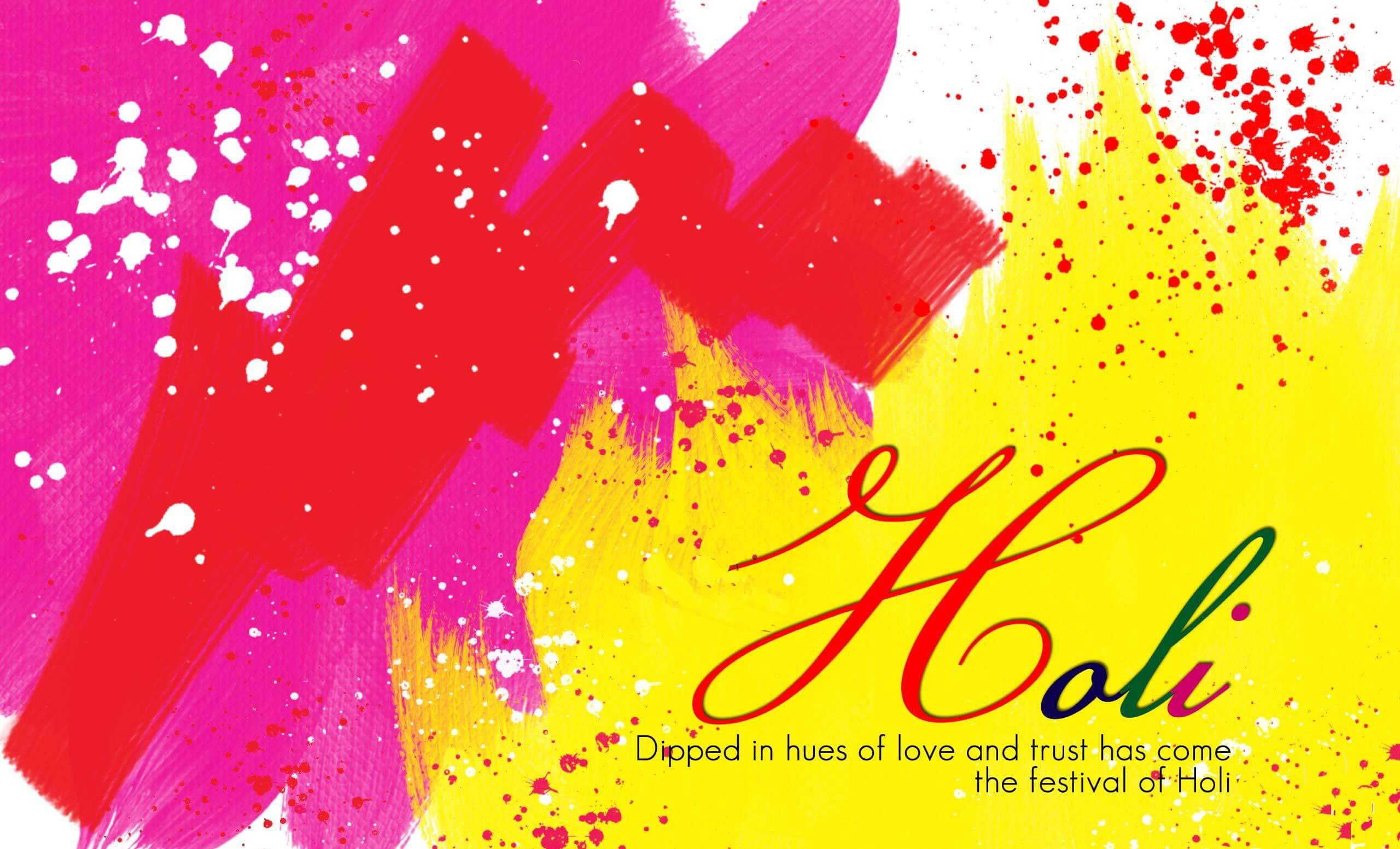 happy holi colors greetings wishes hd wallpaper