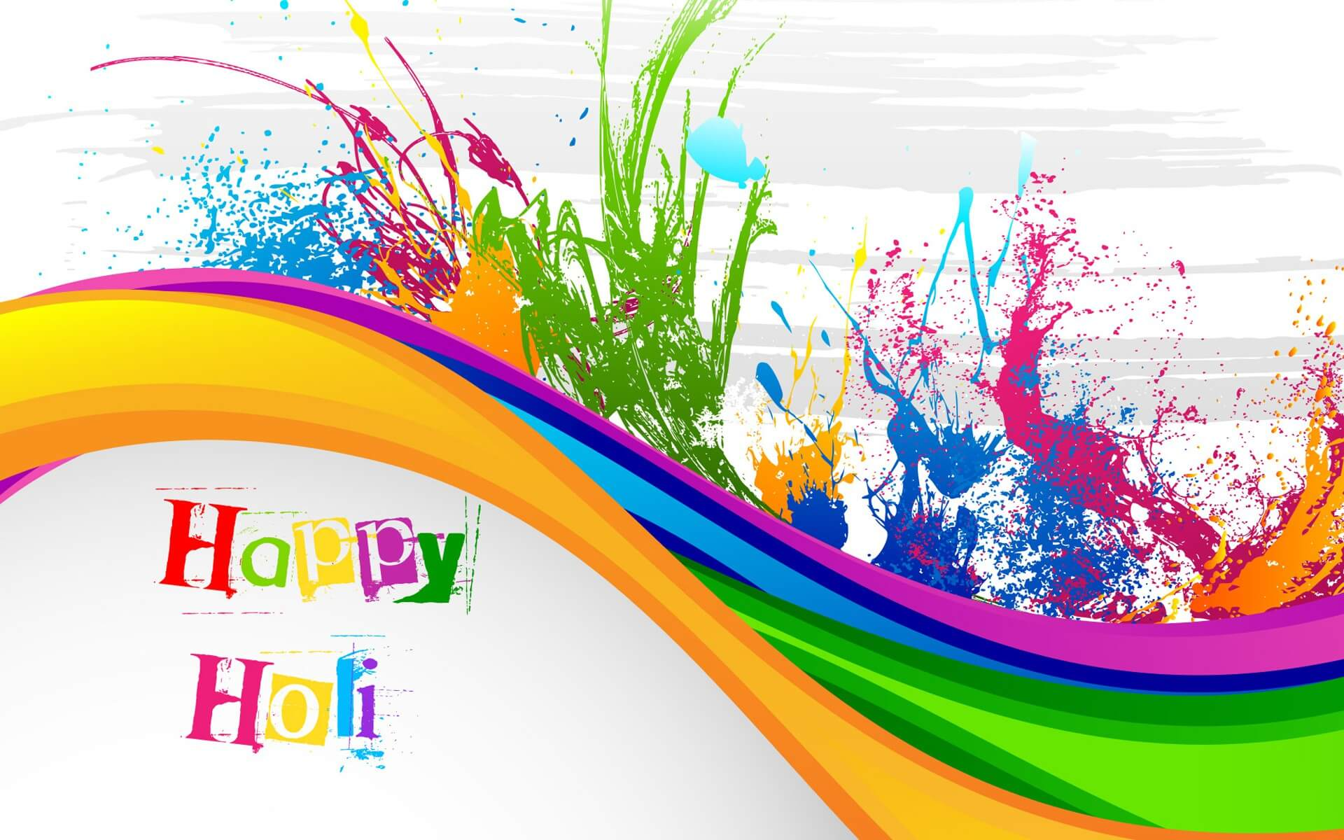 Happy Holi Wishes 3d Hd Wallpaper Background
