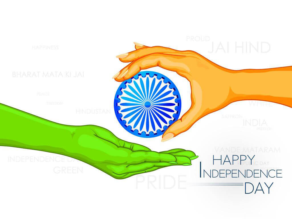 happy india independence day august 15th 1947 wallpaper