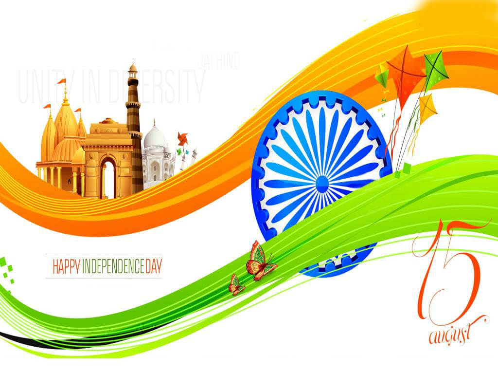happy india independence day jai hind hd wallpaper