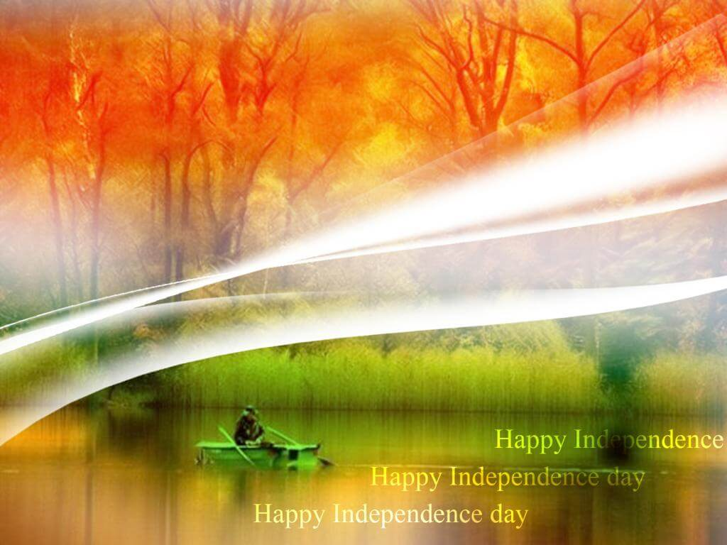 happy india independence day nature flag august 15th wallpaper