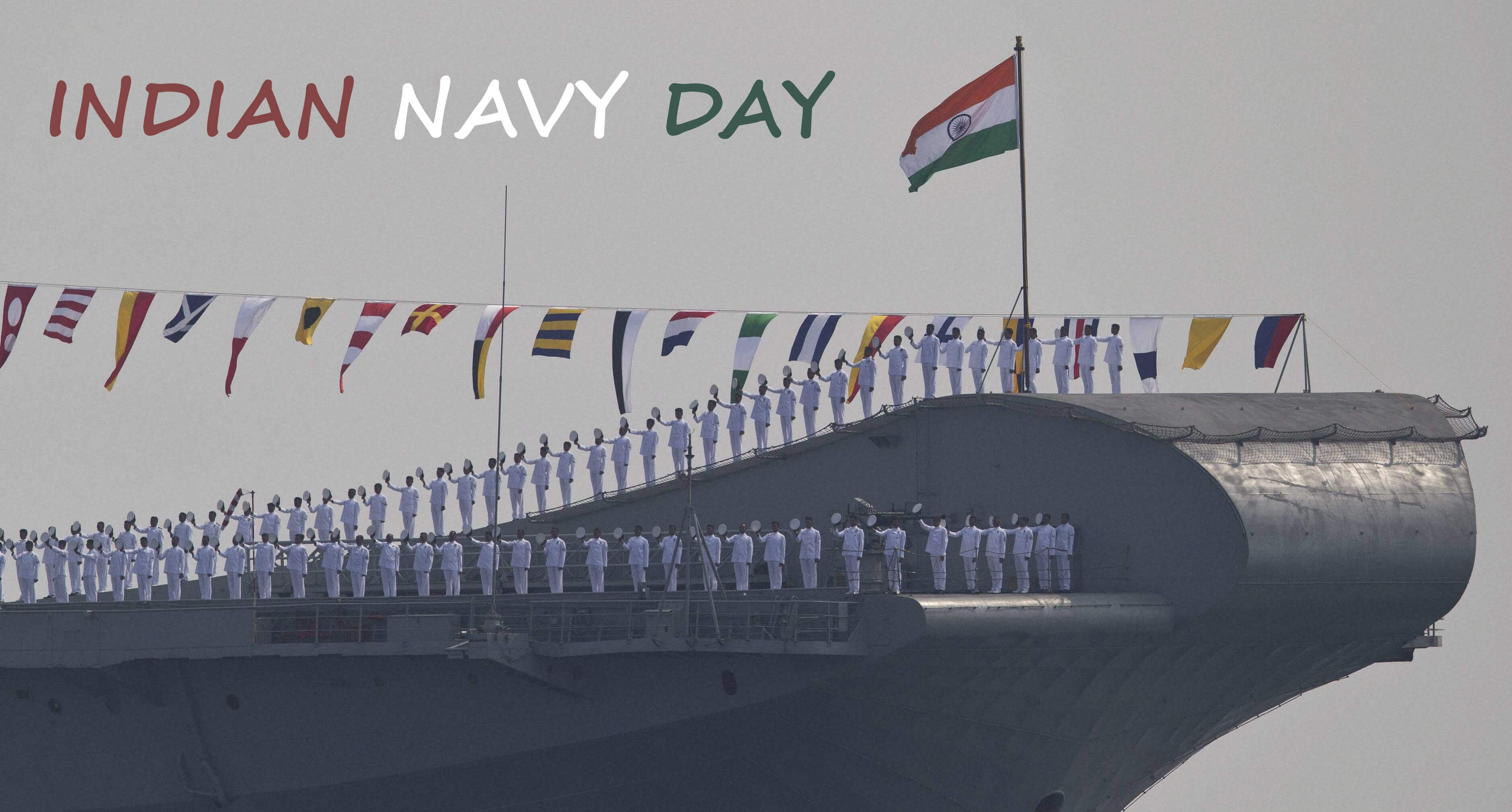 happy indian navy day celebration wishes hd wallpaper