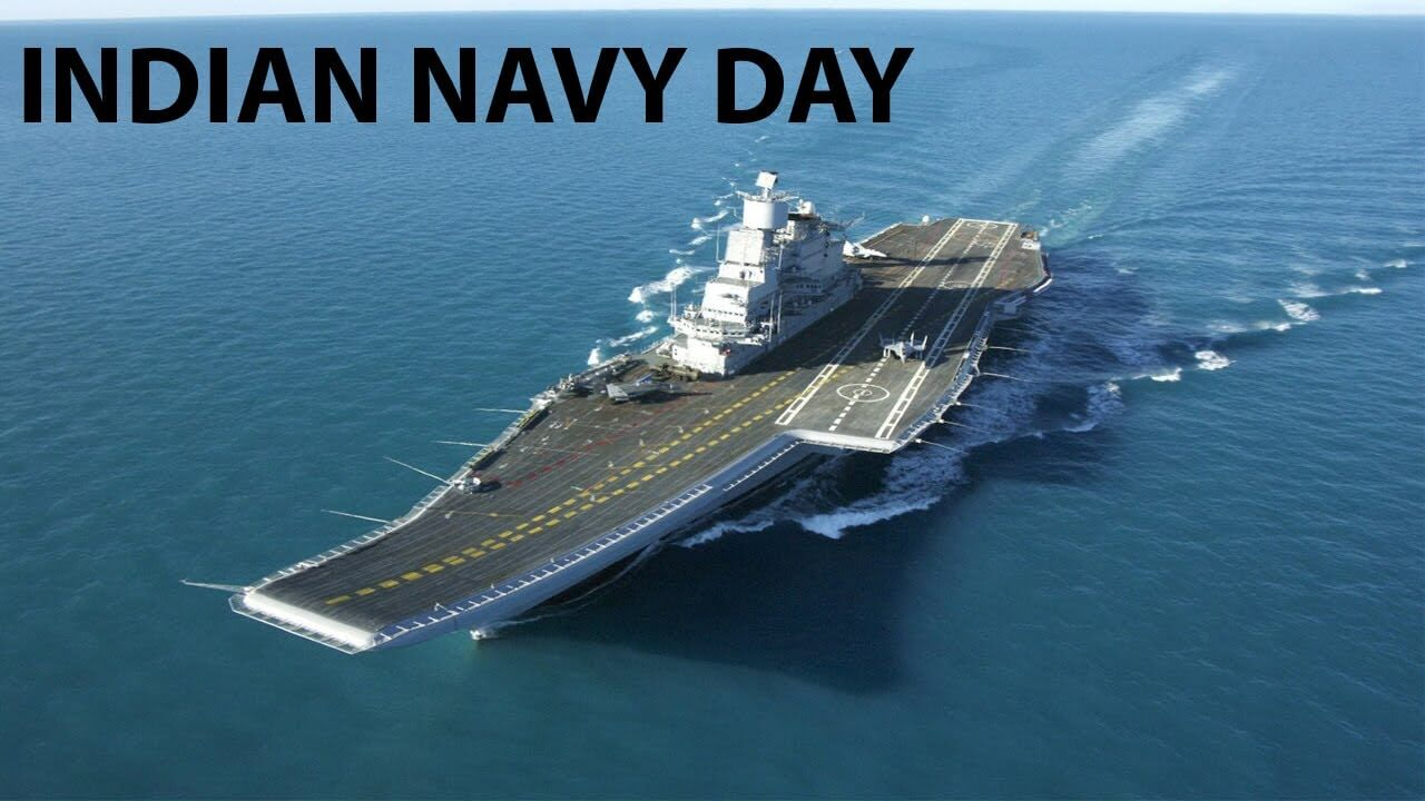 happy indian navy day wishes greetings hd wallpaper