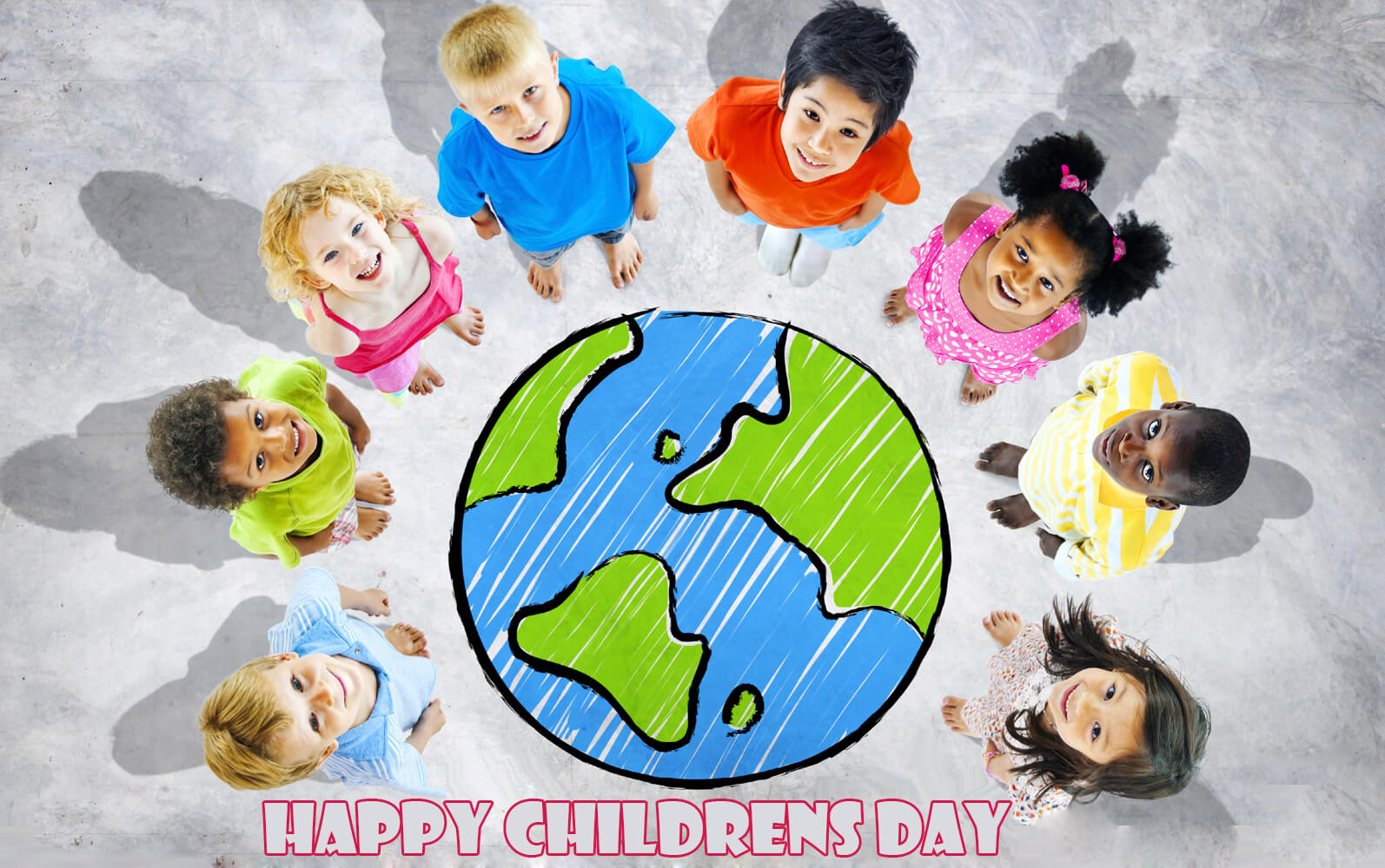 happy international global childrens day hd wallpaper