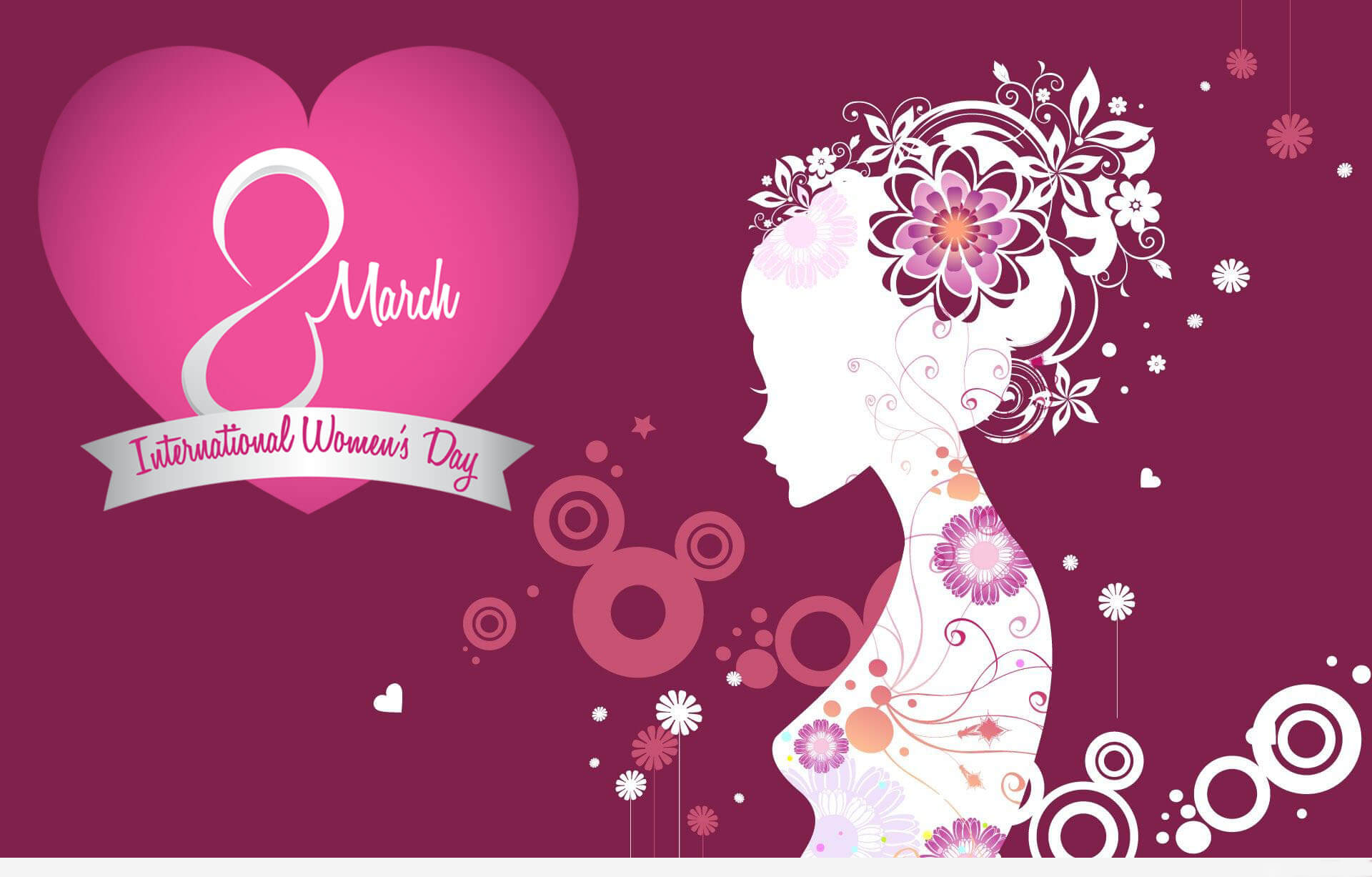 happy international womens day art hd wallpaper