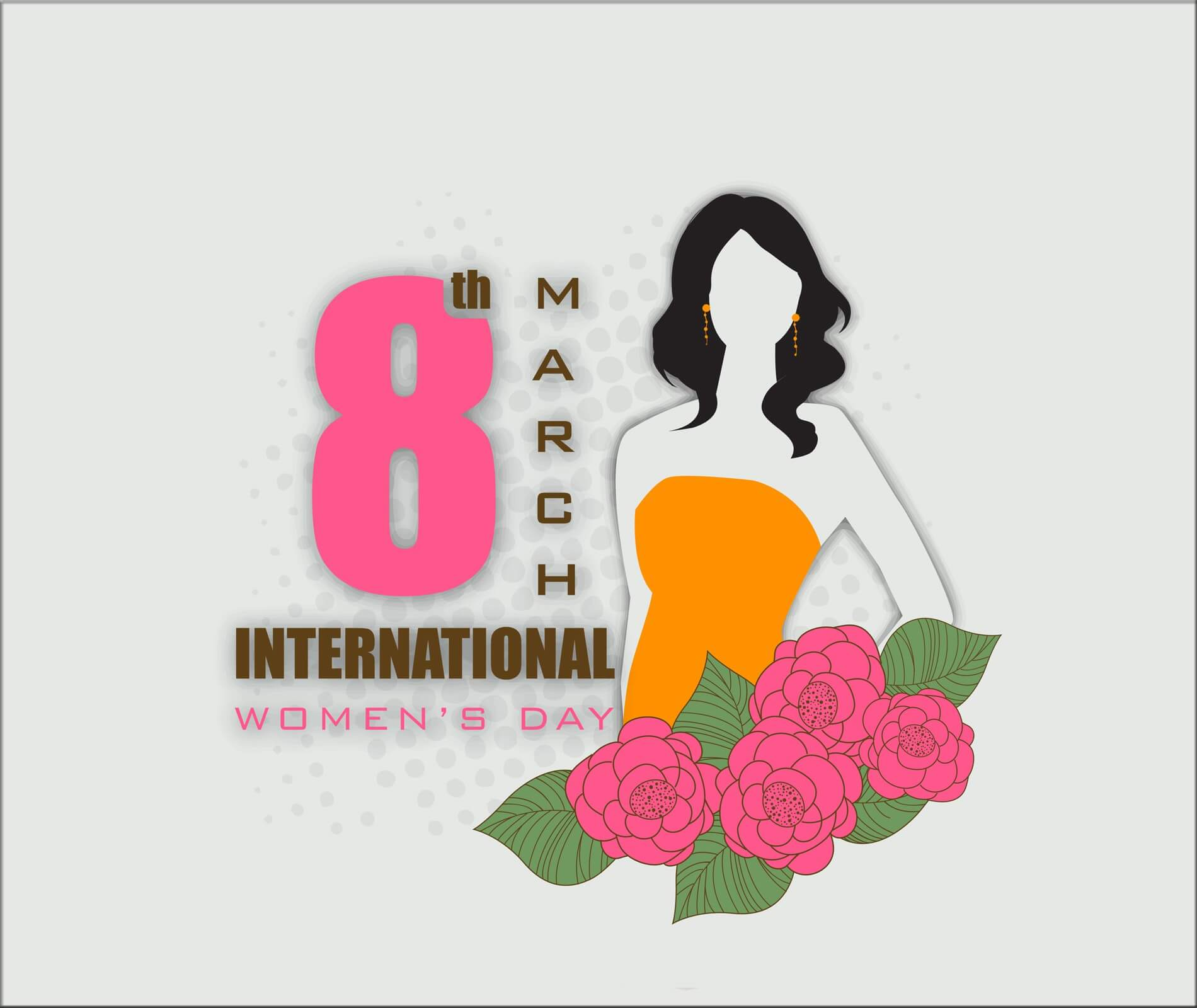 happy international womens day march 8 hd wallpaper