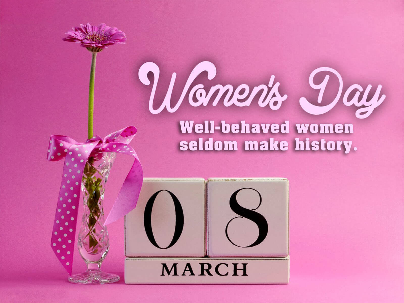 happy international womens day quote march 8