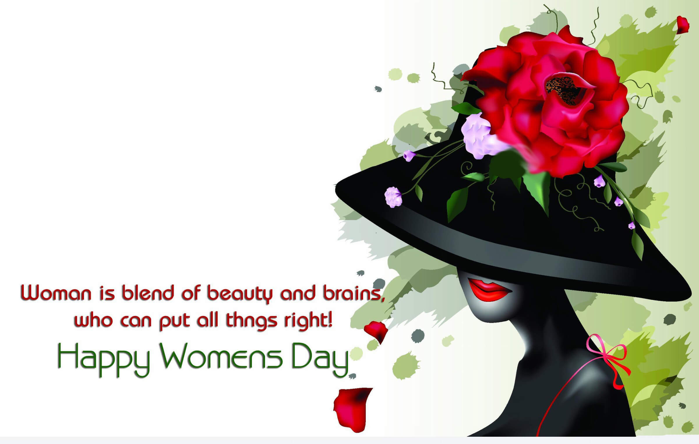 happy international womens day wishes greetings hd wallpaper