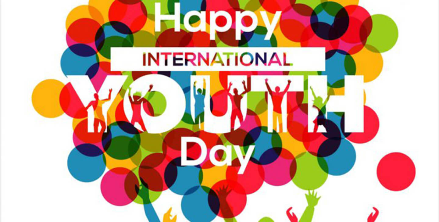 happy international youth day greetings wishes wallpaper