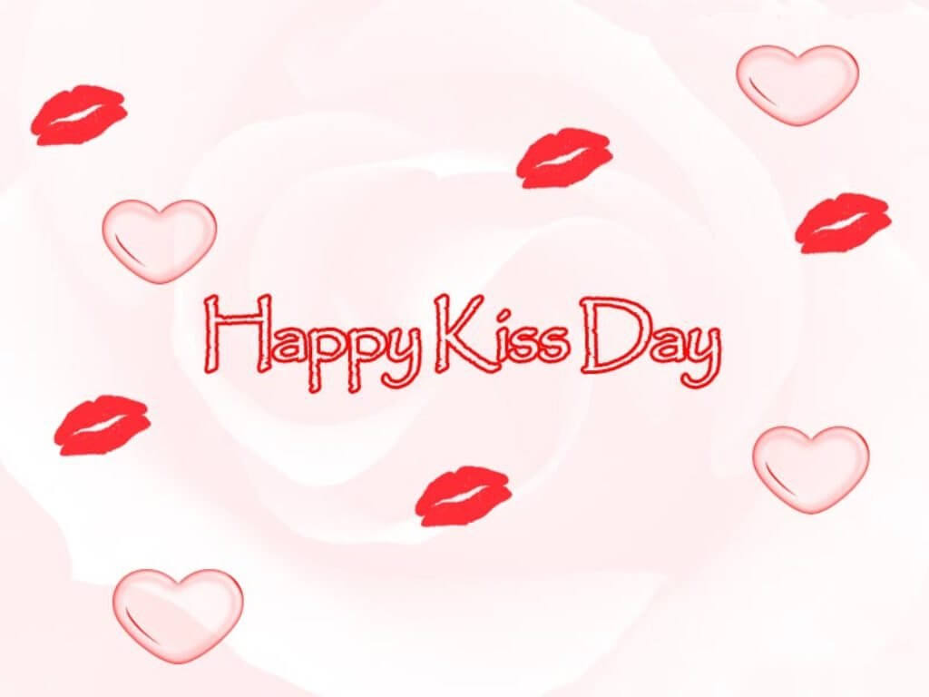 happy kiss day wishes lips love valentine february 12th image hd wallpaper