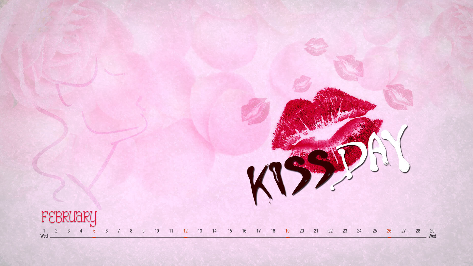 happy kiss day wishes lips love valentine february 12th modern hd wallpaper