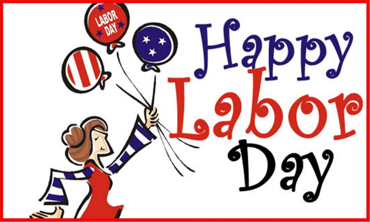 happy labor day cartoon clipart wallpaper