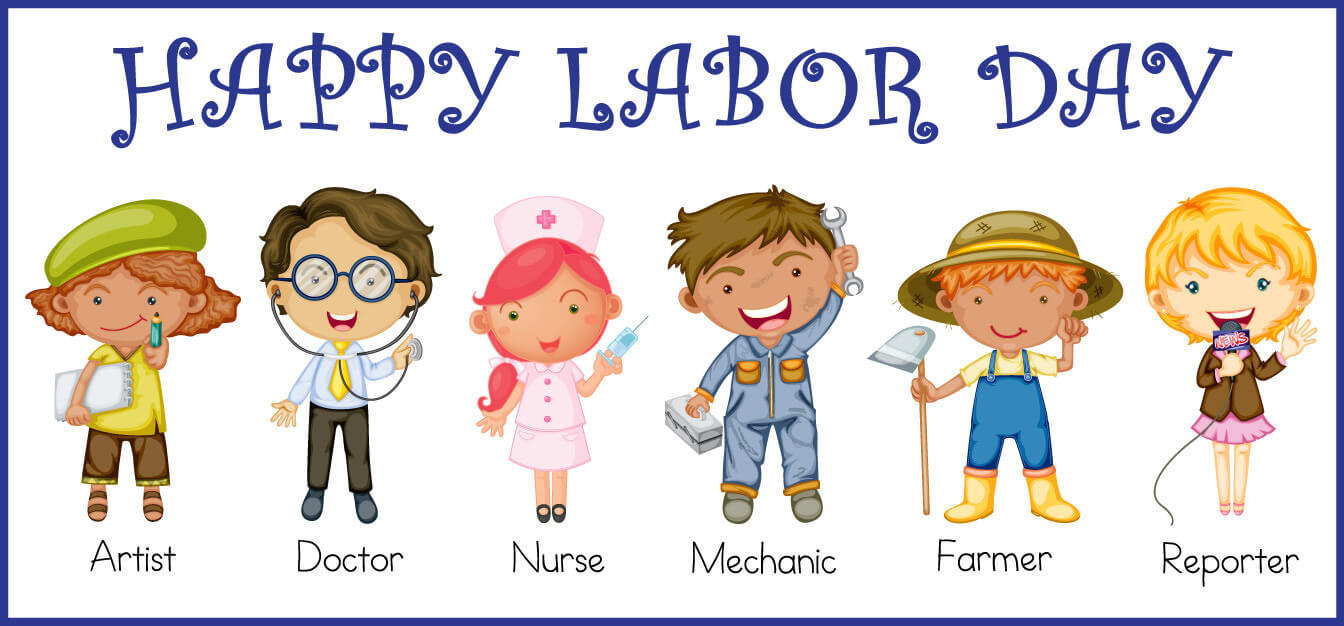 happy labor day clip art wallpaper
