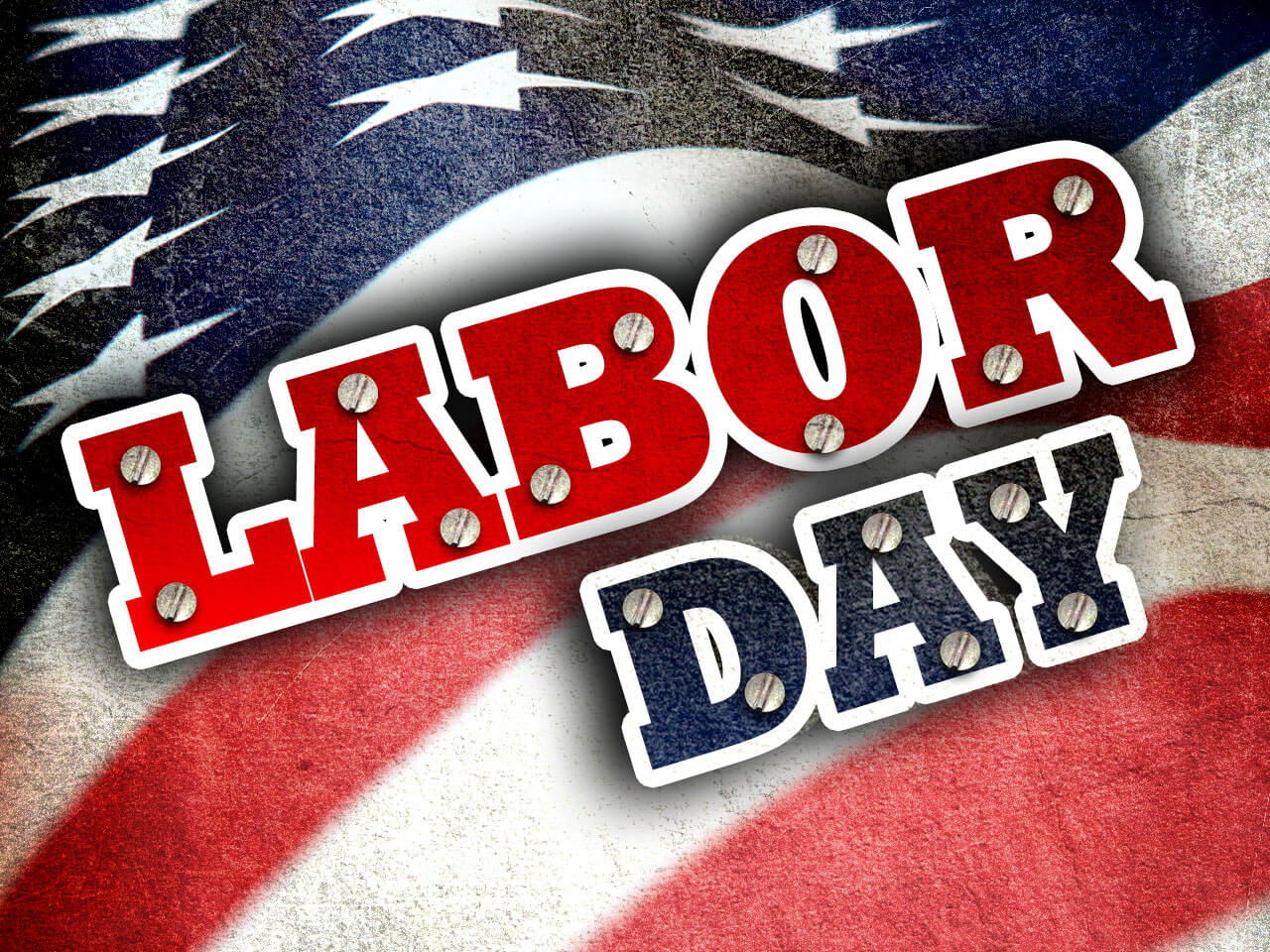 happy labor day flag greetings hd wallpaper