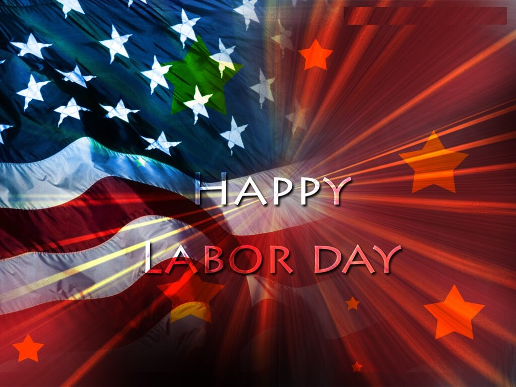 happy labor day wishes flag hd wallpaper
