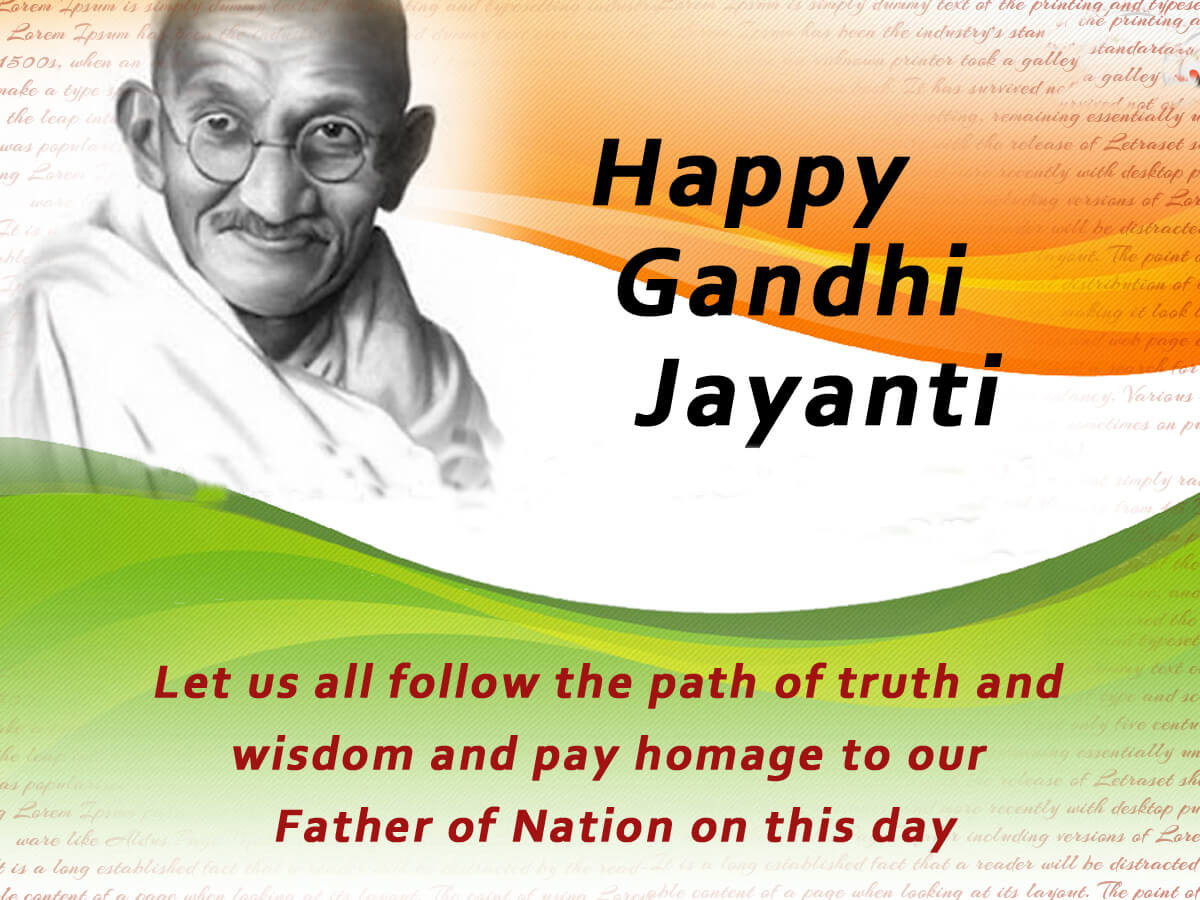 happy mahatma gandhi jayanti wallpaper