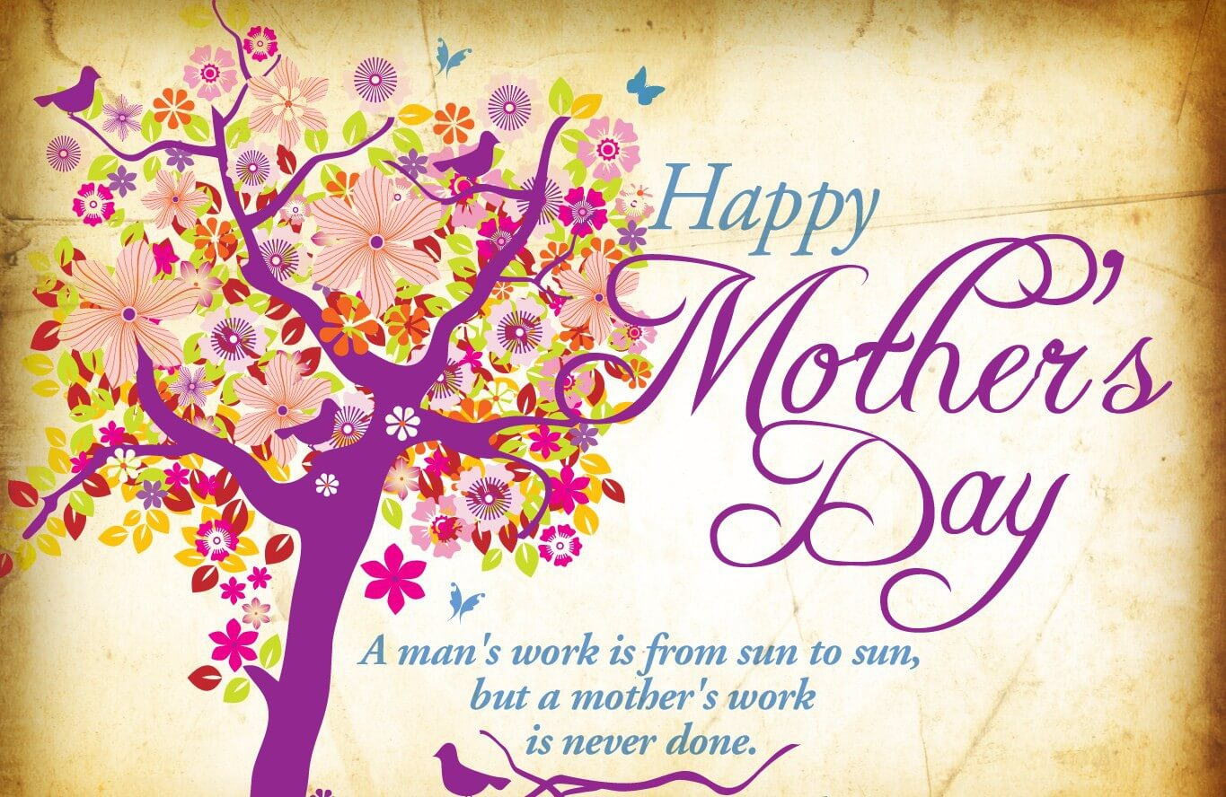 happy mothers day art quotes hd wallpaper