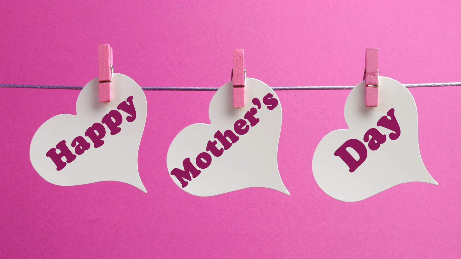 happy mothers day hd heart wallpaper desktop