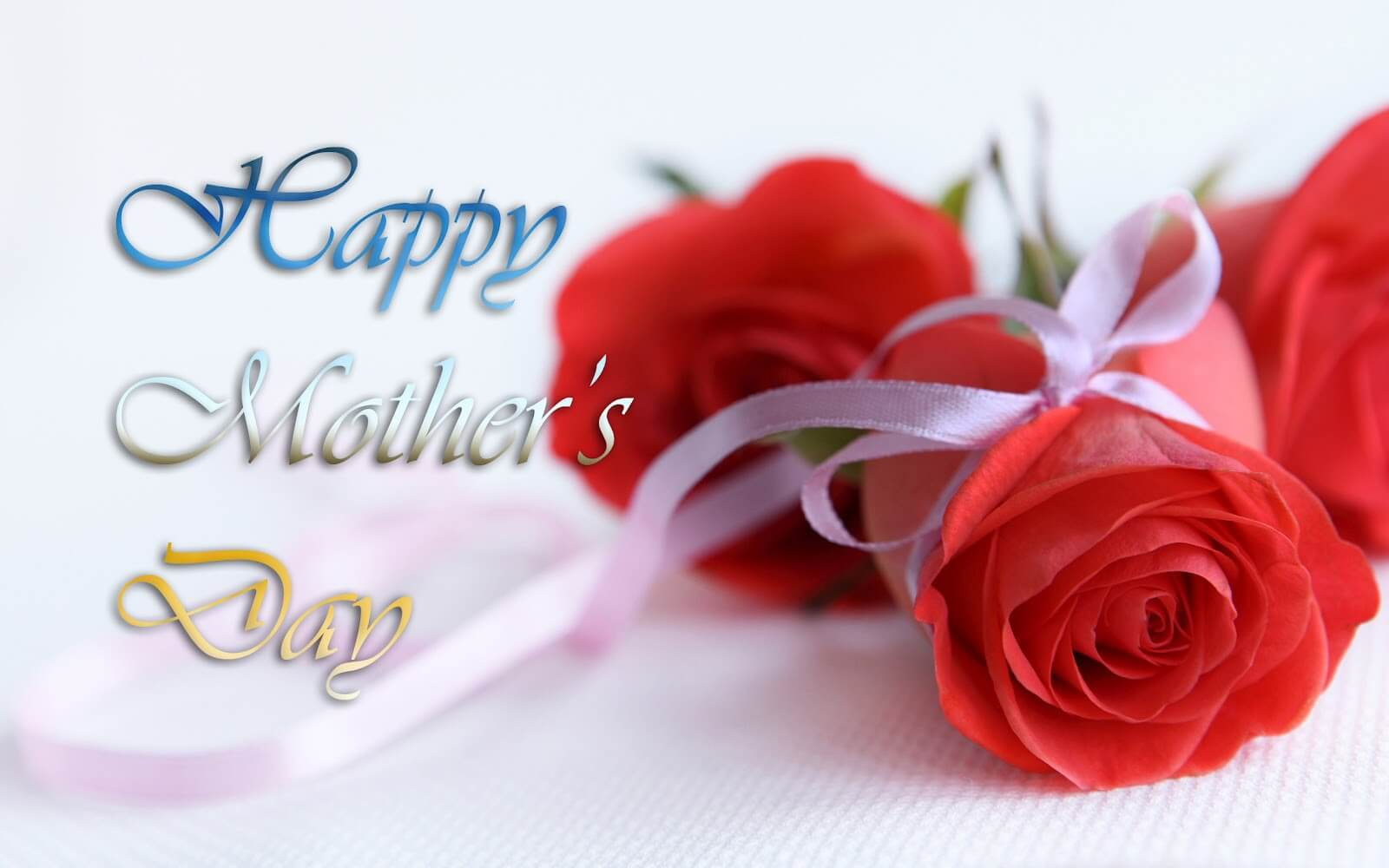 happy mothers day rose wishes greeting card hd wallpaper