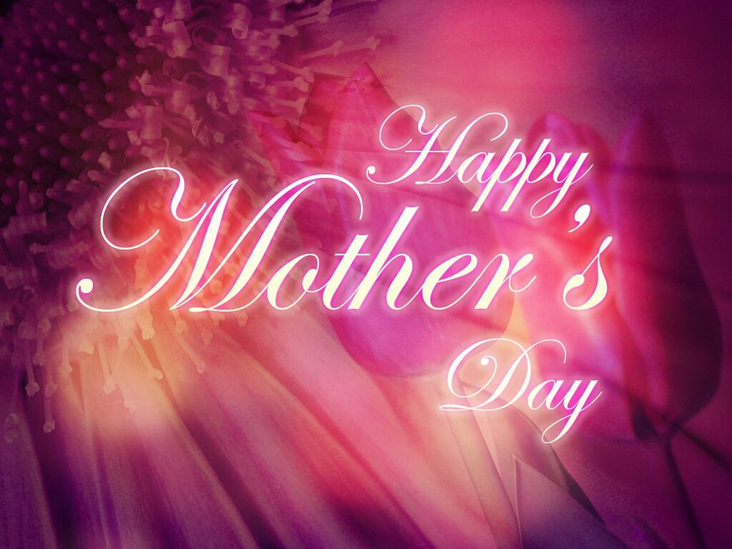 happy mothers day wishes flowers greetings hd wallpaper