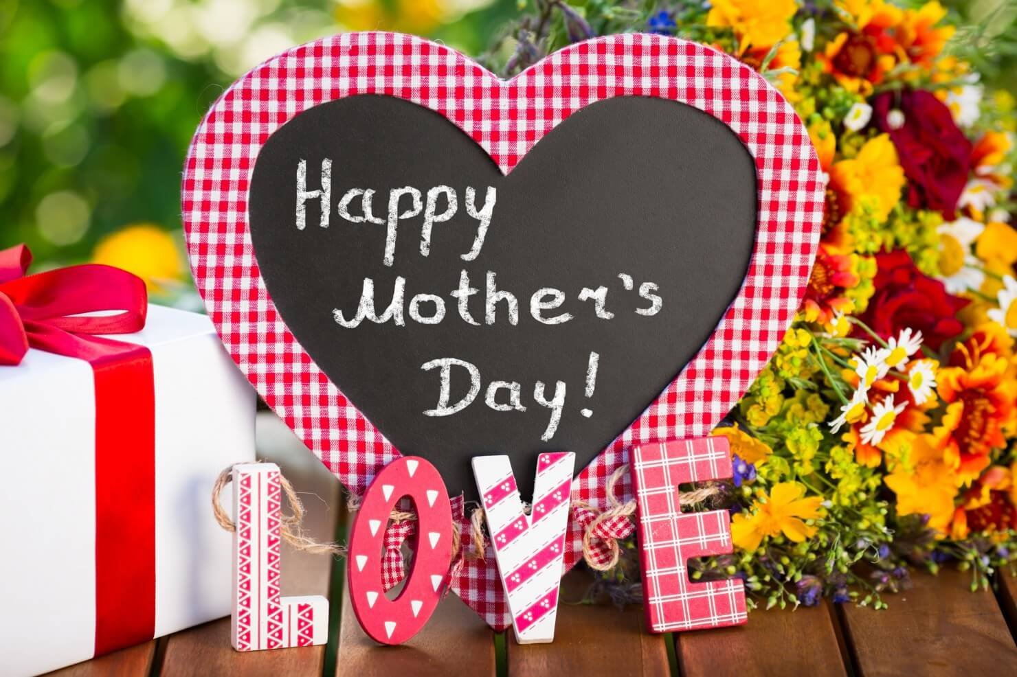 happy mothers day wishes greeting card hd wallpaper
