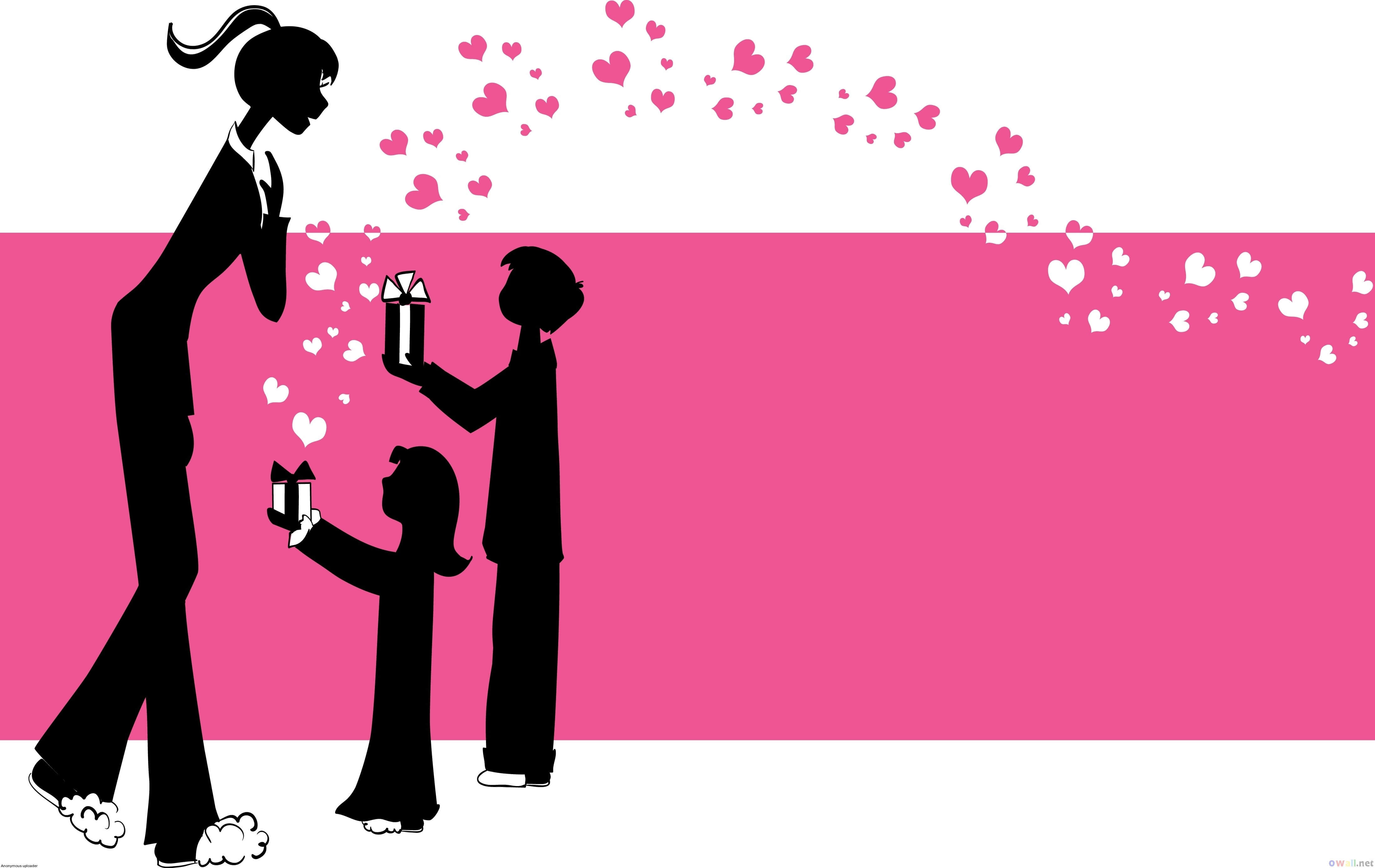 happy mothers day wishes hd wallpaper desktop silhouette