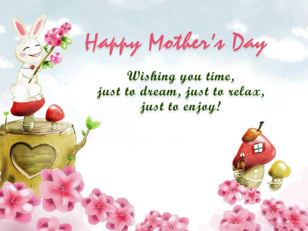 Happy Mothers Day Wishes Hd Wallpaper Desktop