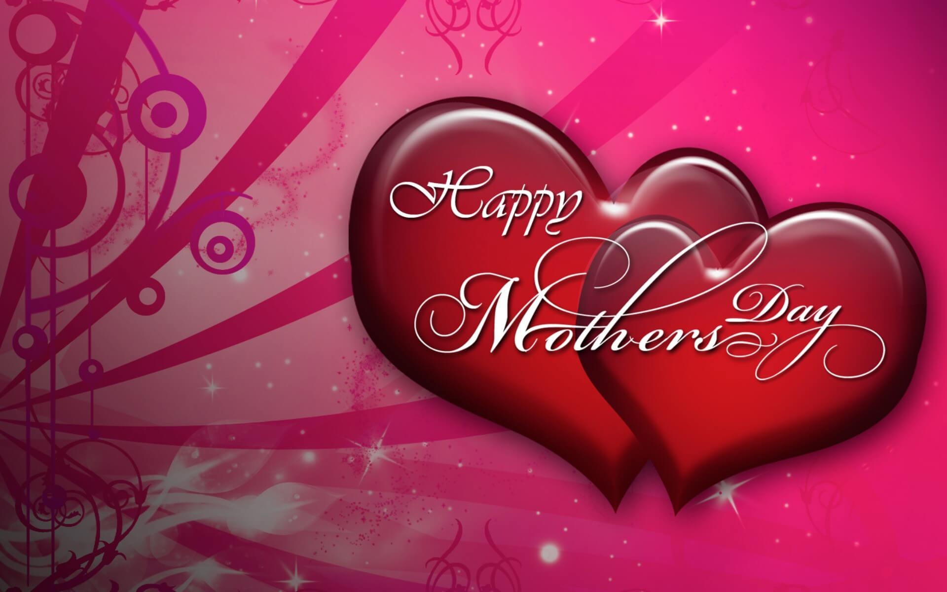 happy mothers day wishes hearts hd wallpaper background