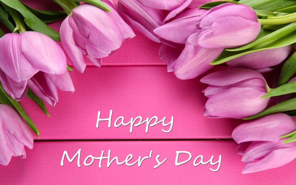 happy mothers day wishes pink roses hd wallpaper