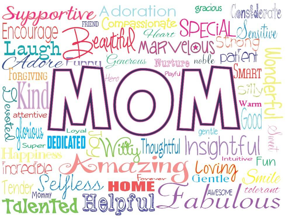 happy mothers day wishes words hd wallpaper