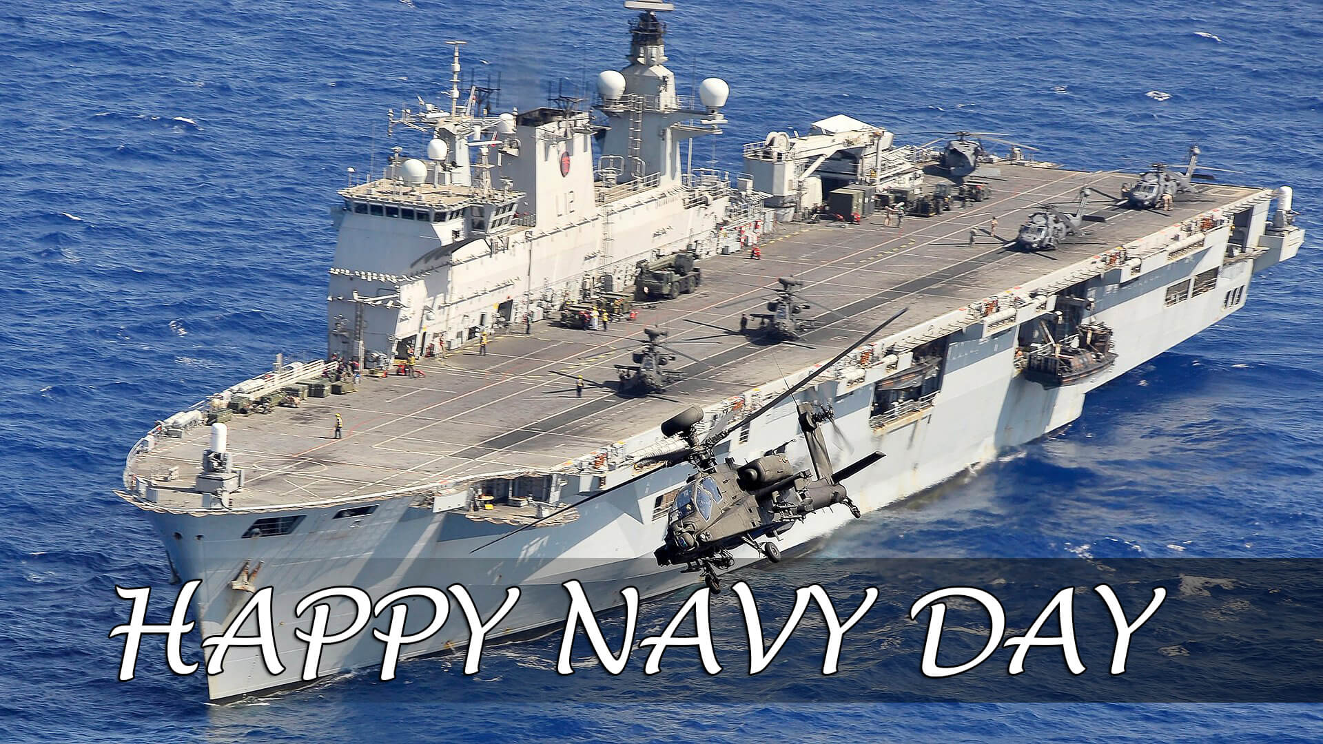 happy navy day greetings wishes hd wallpaper