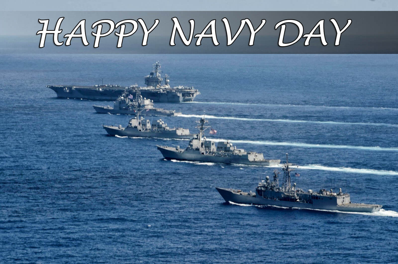 happy navy day ships wishes greetings pc hd wallpaper