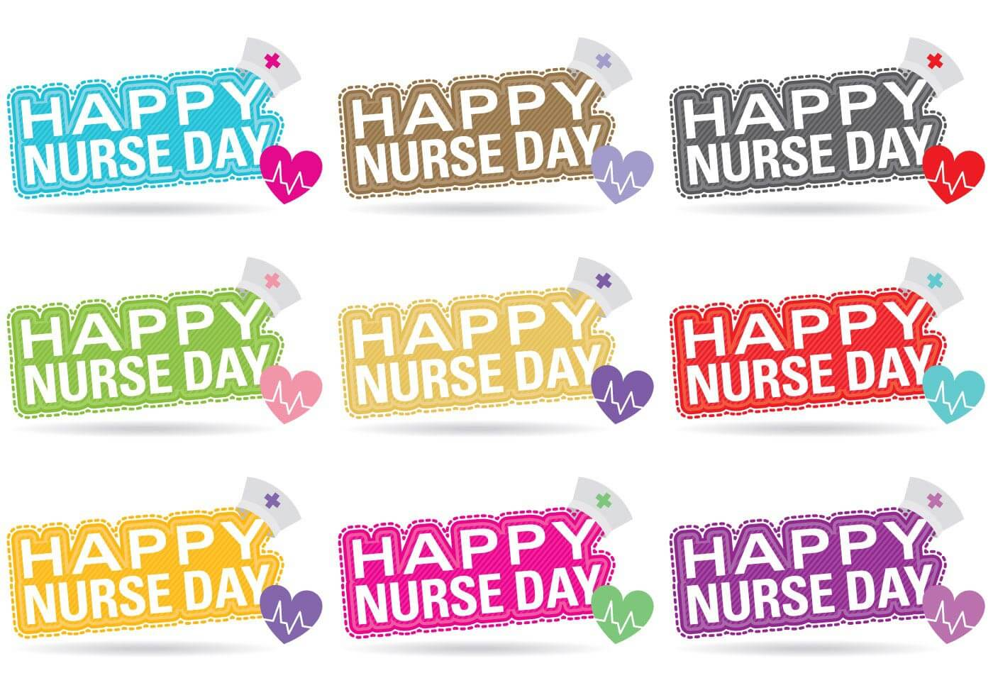 happy nurses day hd wallpaper