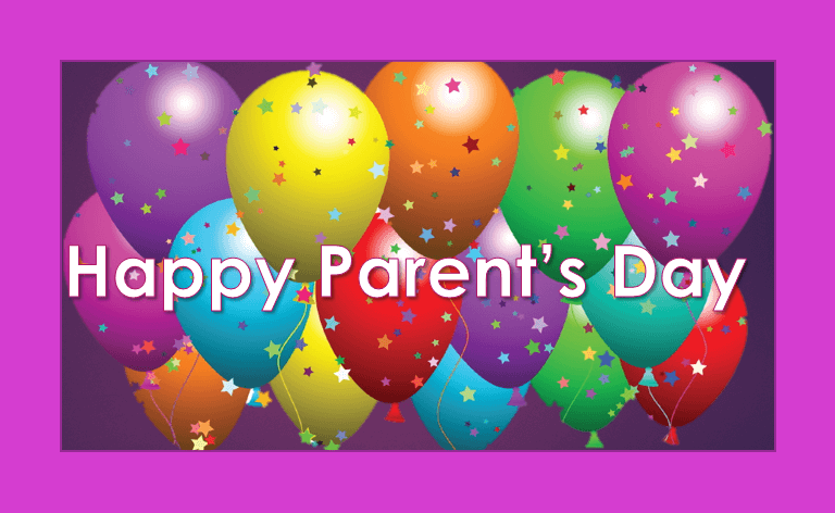 happy parents day greetings baloons