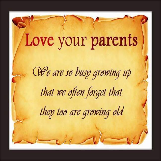 happy parents day poem prayer