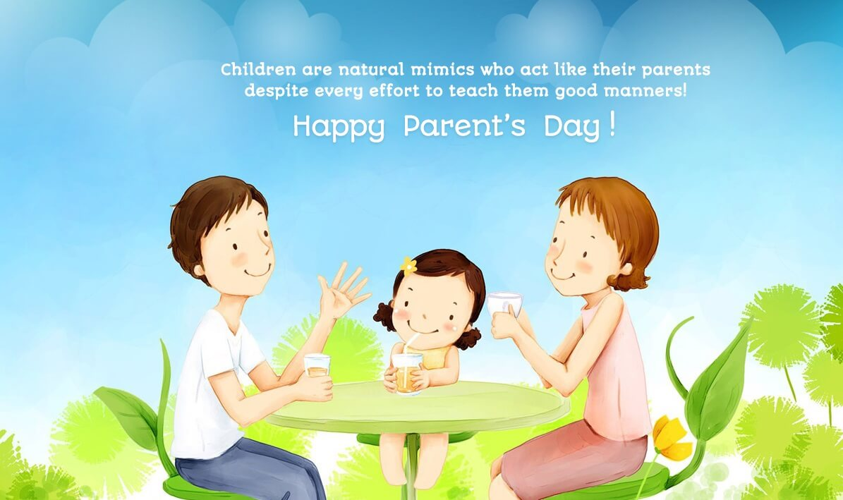 happy parents day wallpaper hd