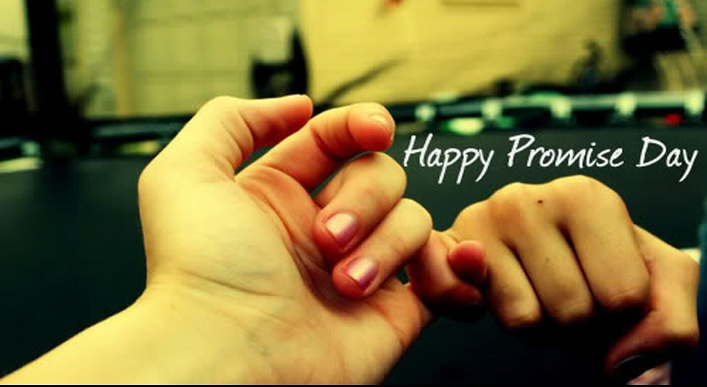 happy promise day wishes love valentine holding fingers february 11th hd wallpaper