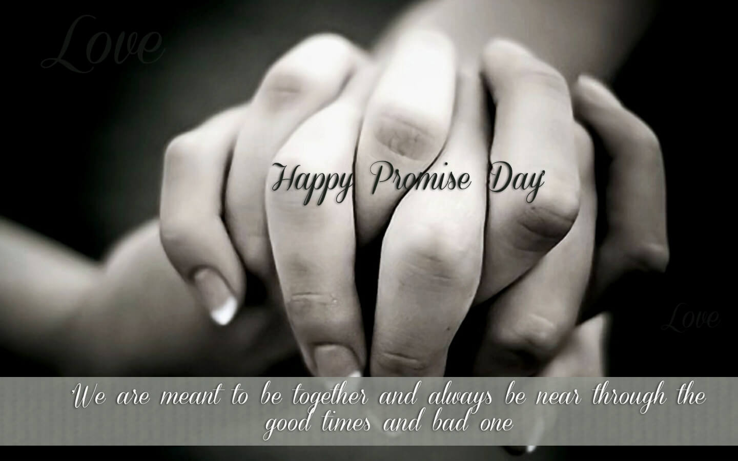 happy promise day wishes love valentine image hd wallpaper
