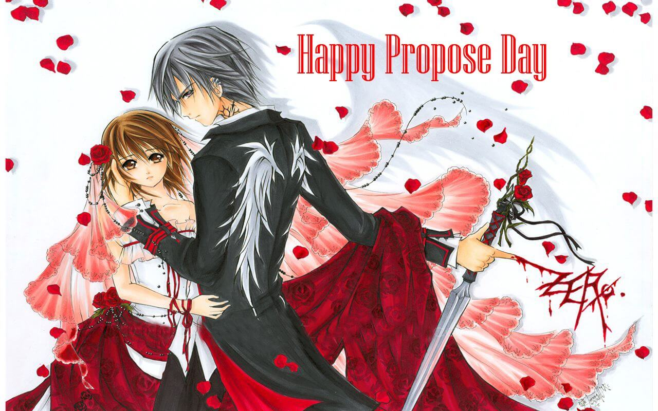 happy propose day animation character february 8th background hd wallpaper