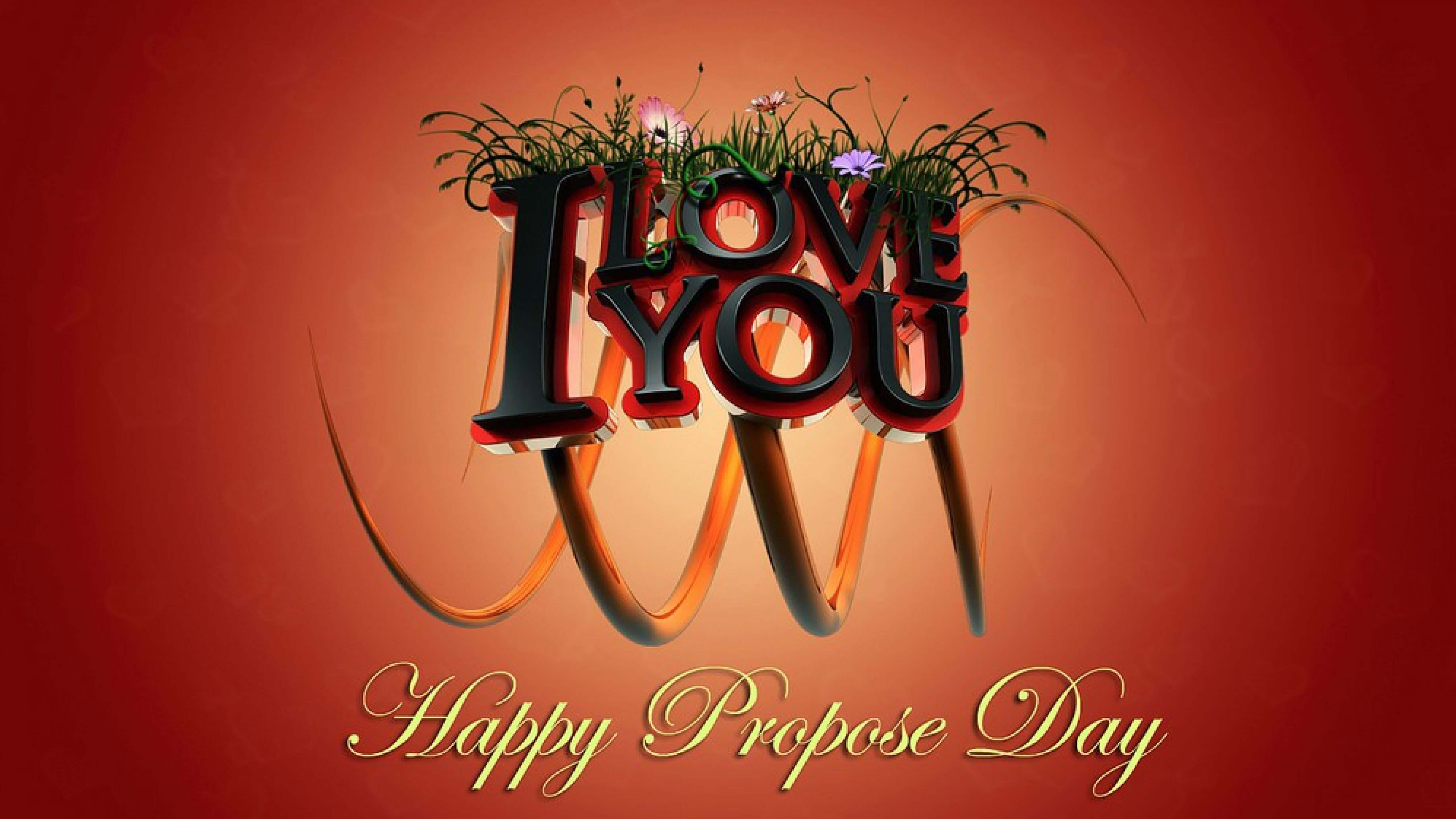 happy propose day love you february 8th background large hd wallpaper