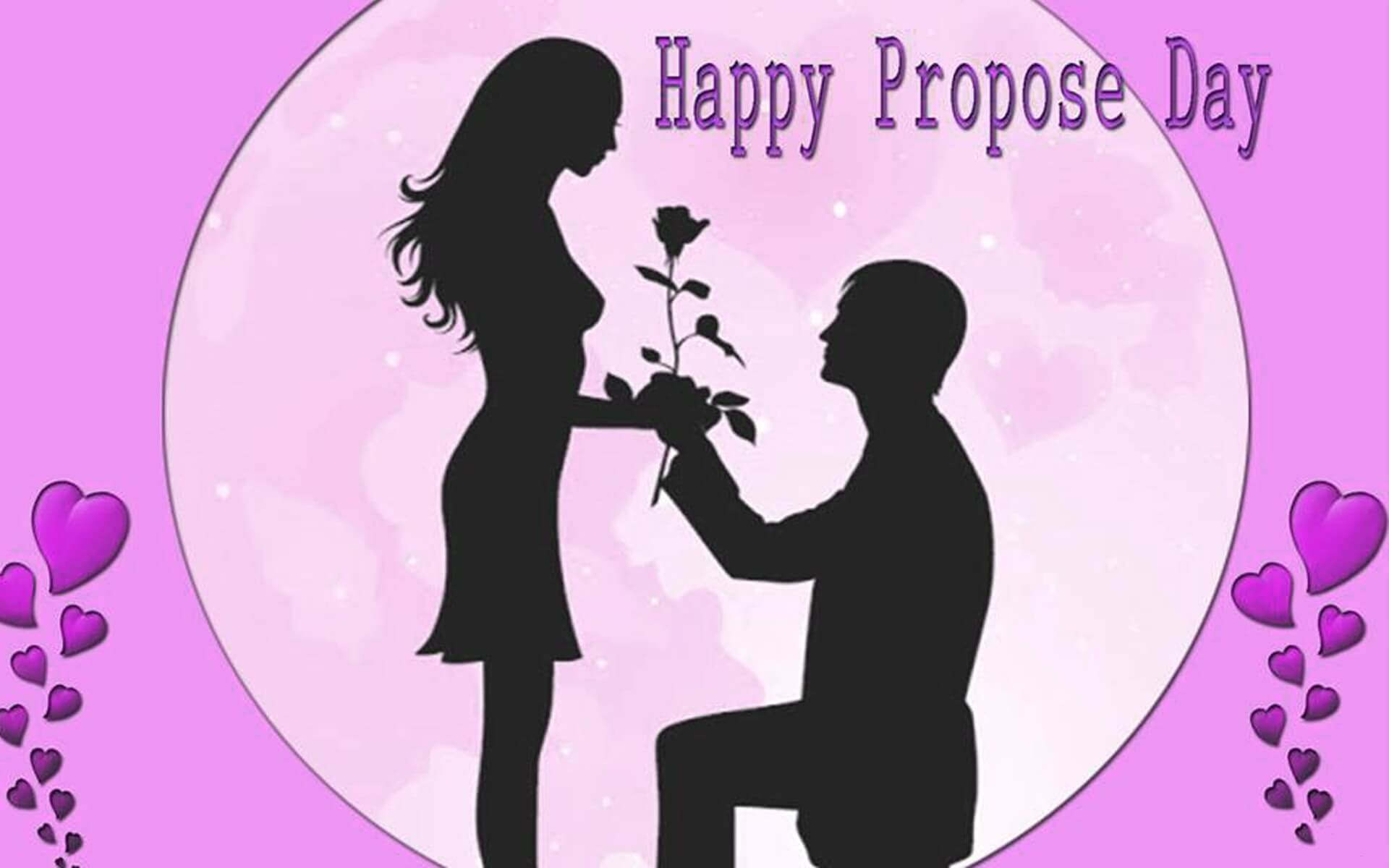 happy propose day rose desktop pc hd wallpaper