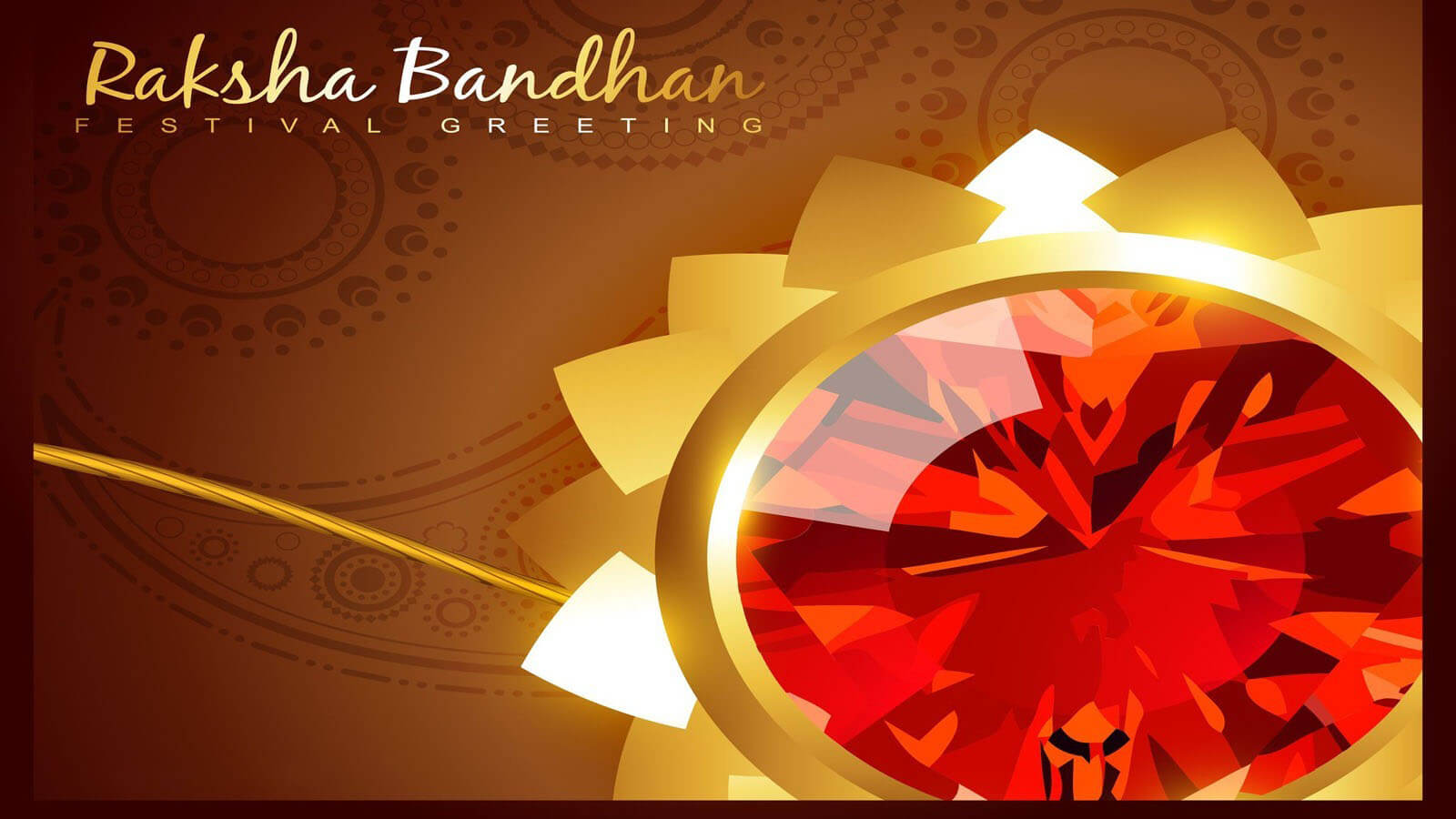 happy raksha bandhan festival greetings hd wallpaper