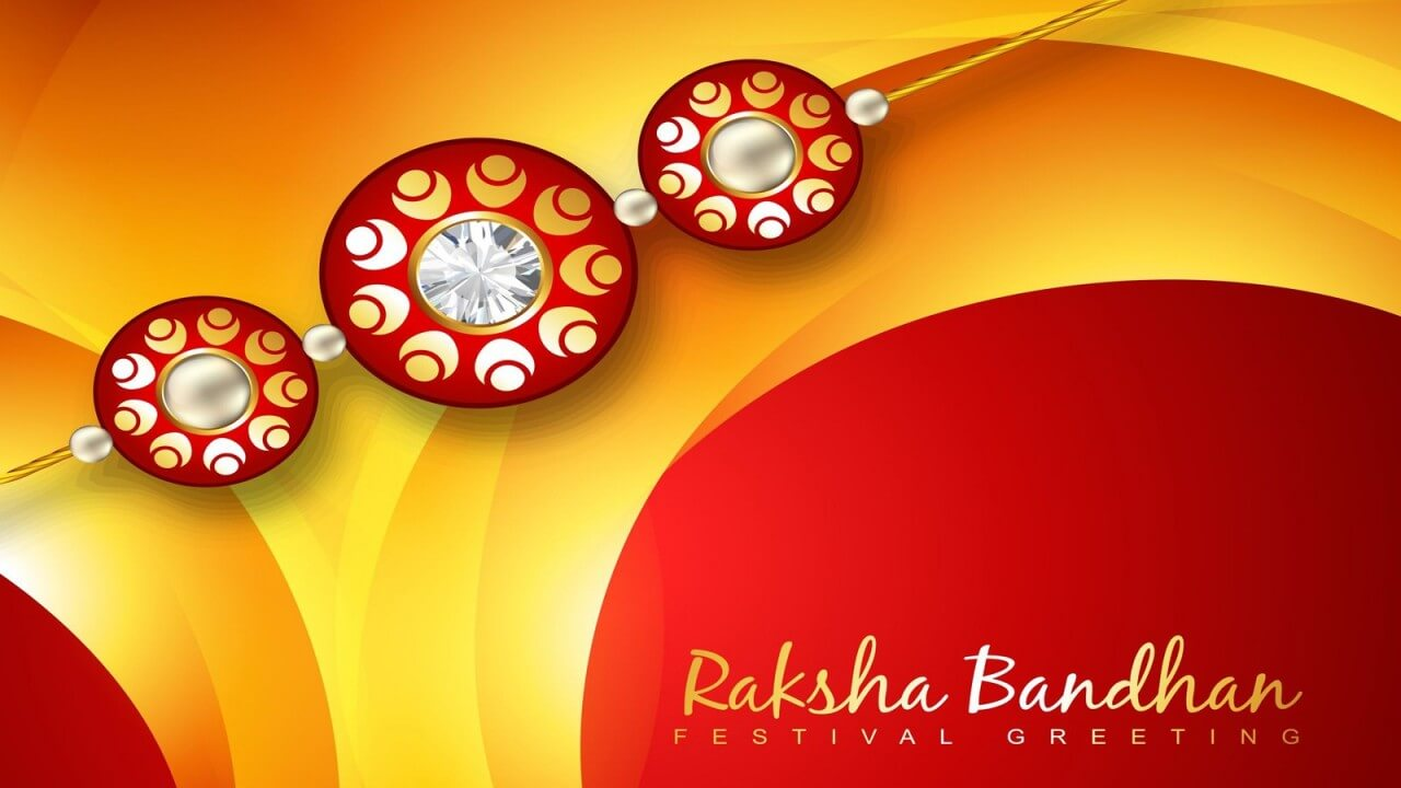 happy raksha bandhan festival greetings wishes hd wallpaper
