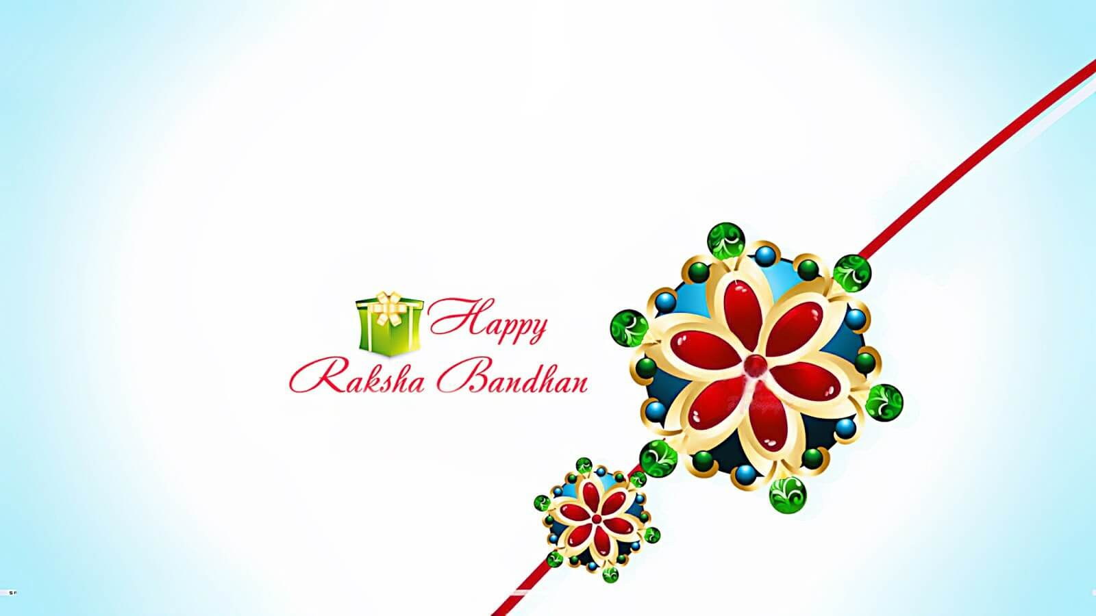 Happy raksha bandhan greetings wallpaper m4hsunfo