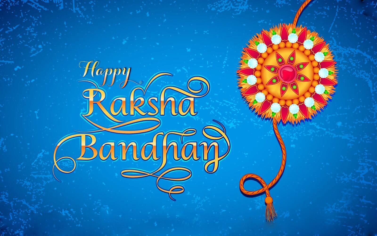 happy raksha bandhan latest cute hd wallpaper