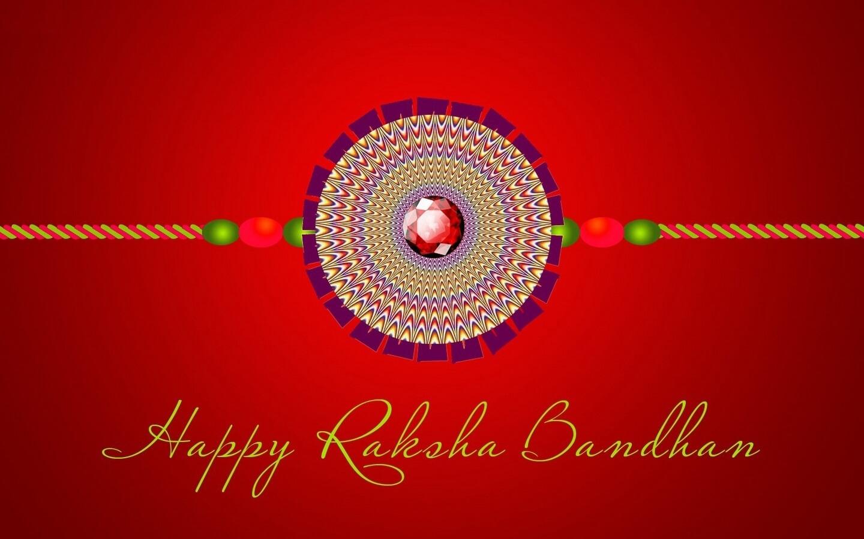 happy raksha bandhan rakhi hd illusion wallpaper
