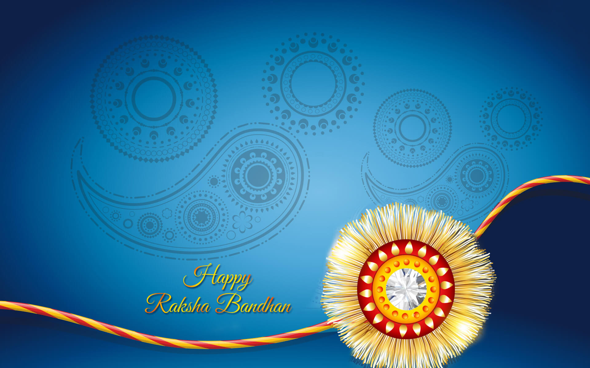 happy raksha bandhan rakhi latest awesome hd wallpaper